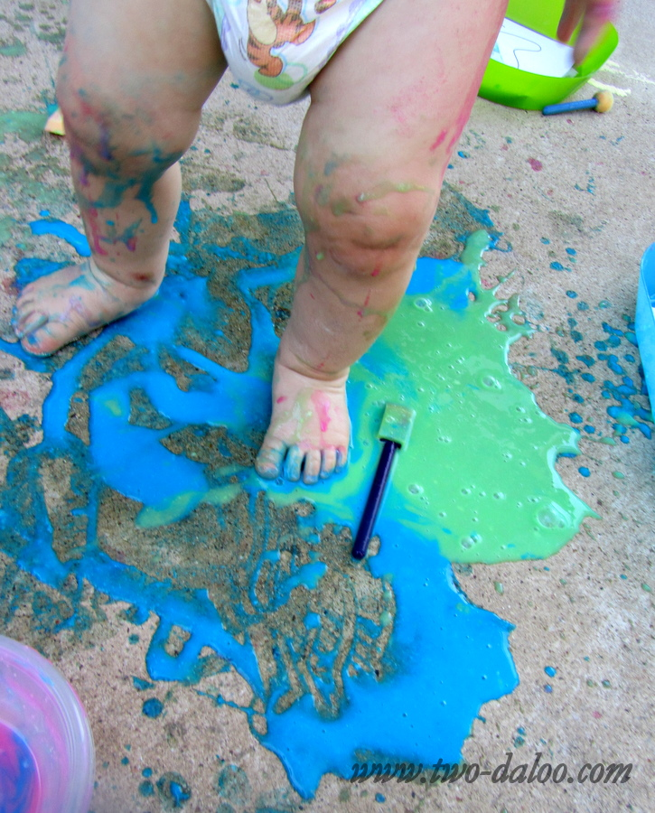 Flour-based Paint